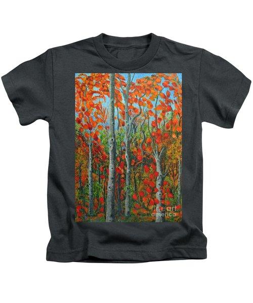 I Love Fall Kids T-Shirt