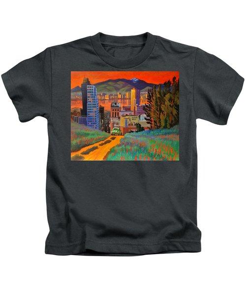 I Love New York City Jazz Kids T-Shirt