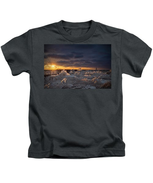Ice Fields Kids T-Shirt