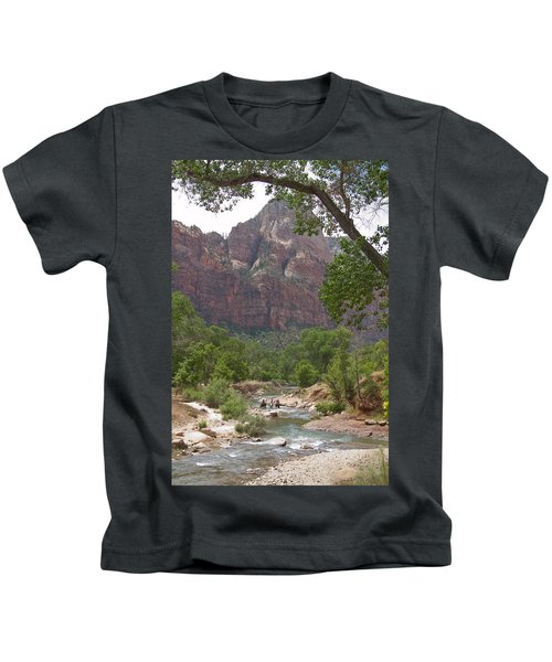 Iconic Western Scene Kids T-Shirt