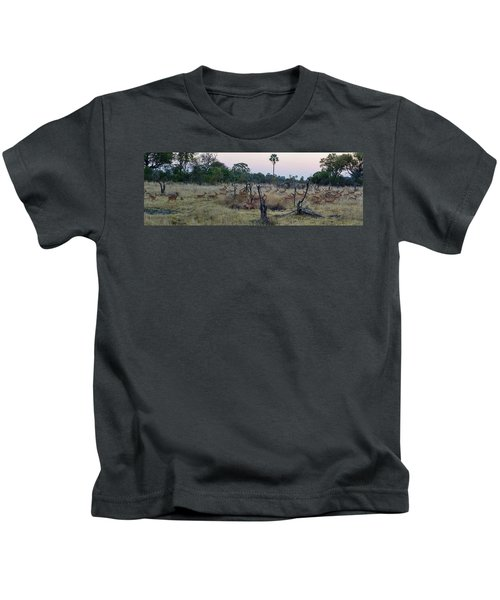 Impalas Aepyceros Melampus Running Kids T-Shirt