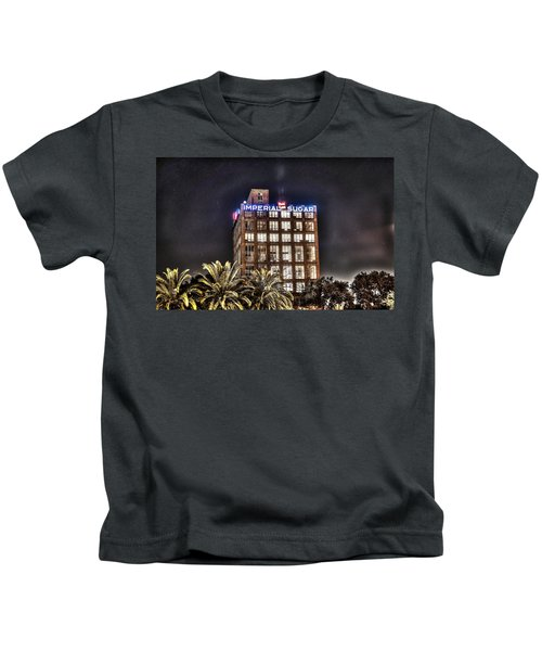 Imperial Sugar Mill Kids T-Shirt