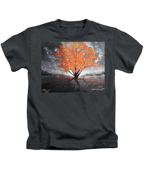 Blaze In The Twilight Kids T-Shirt
