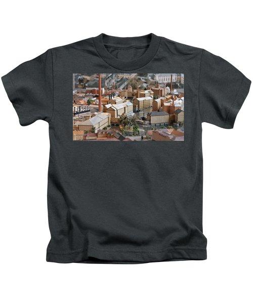 Industrial Town Miniature Model Kids T-Shirt