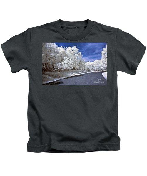 Infrared Road Kids T-Shirt