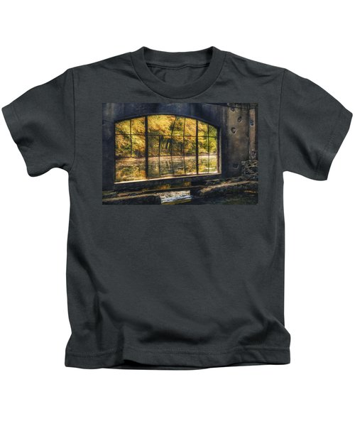 Inside The Old Spring House Kids T-Shirt