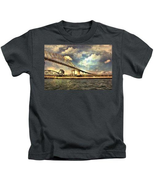 International Bridge Sault Ste Marie Kids T-Shirt