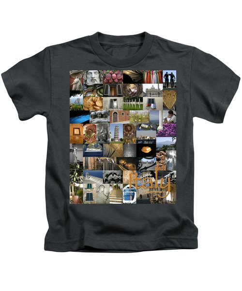 Italy Poster Kids T-Shirt