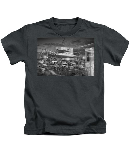 It's A Disposable World  Kids T-Shirt