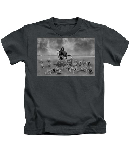 It's All In Black And White Kids T-Shirt