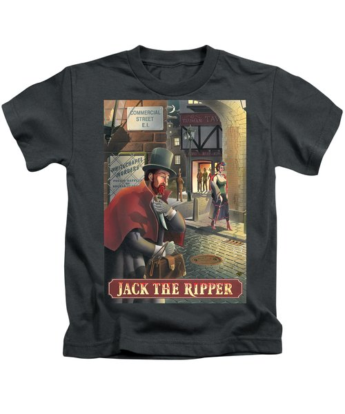 Jack The Ripper Kids T-Shirt