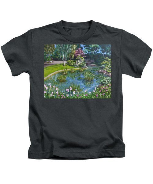 Japanese Garden Kids T-Shirt