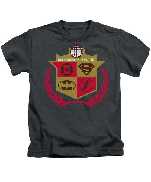 Jla - Defenders Kids T-Shirt
