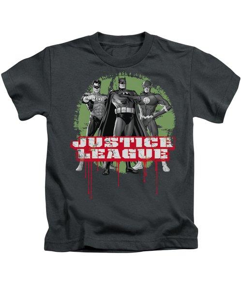 Jla - Jla Trio Kids T-Shirt