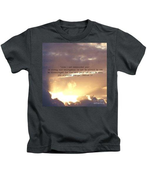 Joshua 1 Kids T-Shirt