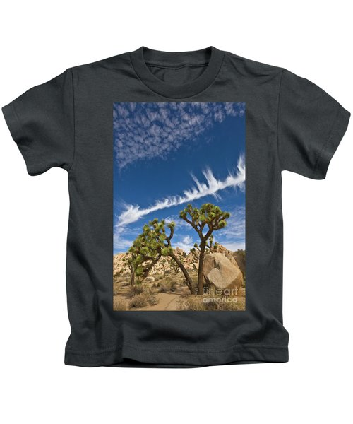 Joshua Trees  In Joshua Tree Natl Park Kids T-Shirt