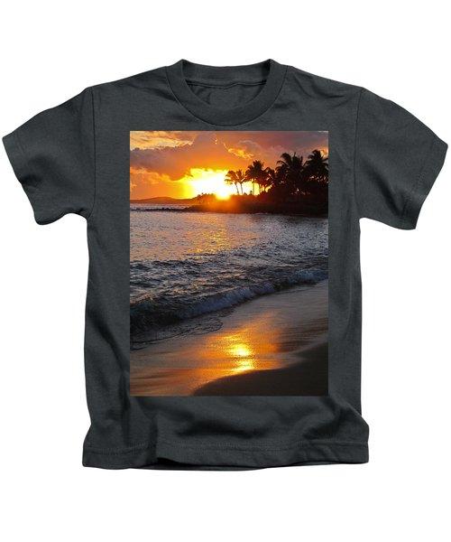 Kauai Sunset Kids T-Shirt