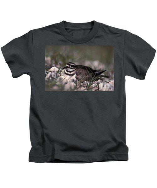 Killdeer Female Nesting Kids T-Shirt