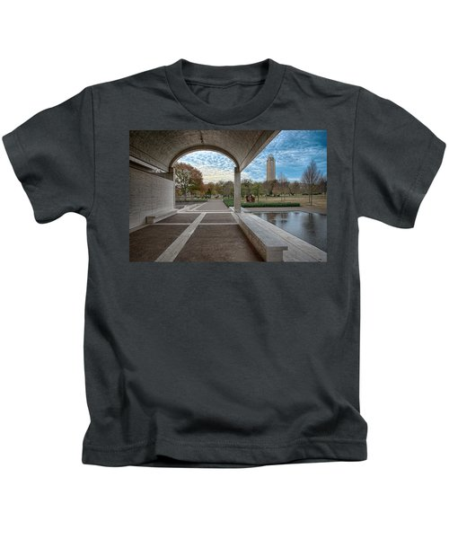 Kimbell Art Museum Fort Worth Kids T-Shirt