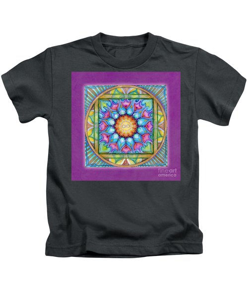 Kindness Mandala Kids T-Shirt