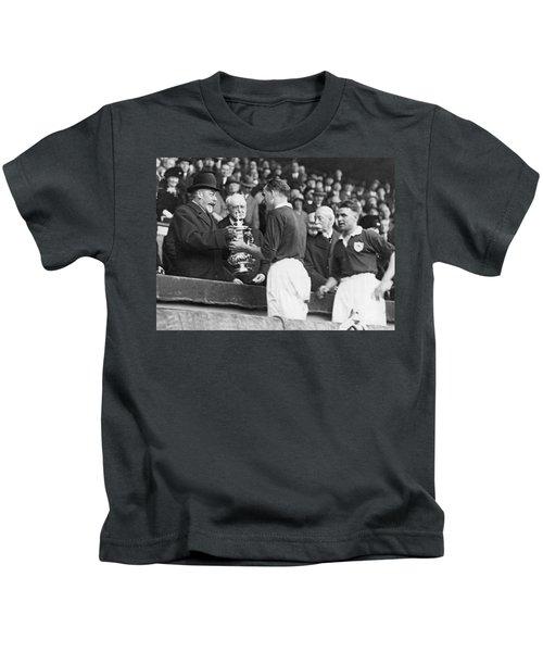 King Presents Soccer Trophy Kids T-Shirt
