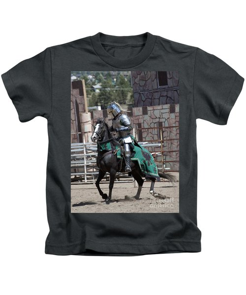 Knight In Shining Armor Kids T-Shirt