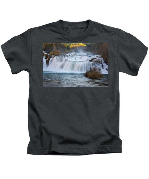 Krka Waterfalls Kids T-Shirt