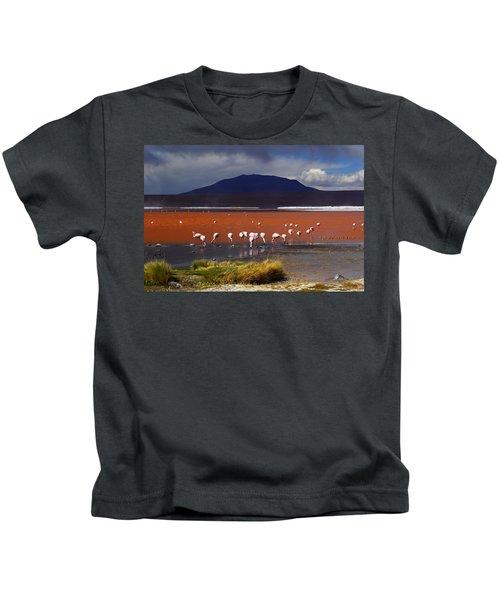 Laguna Colorada Kids T-Shirt