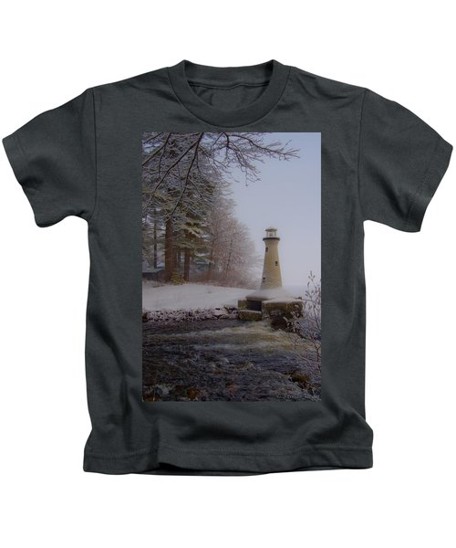 Lake Potanipo Lighthouse Kids T-Shirt