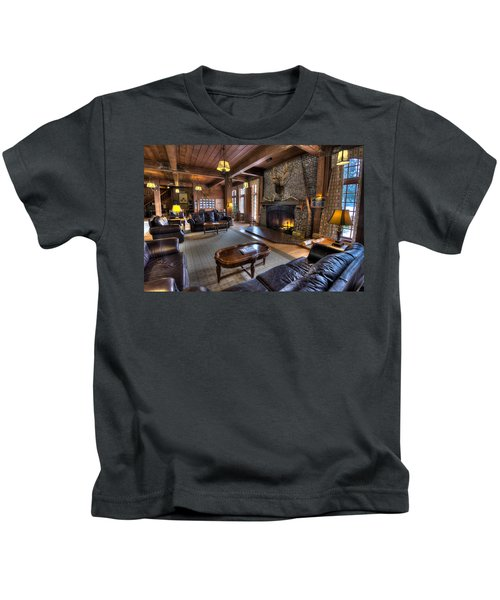 Lake Quinault Lodge Olympic National Park Kids T-Shirt