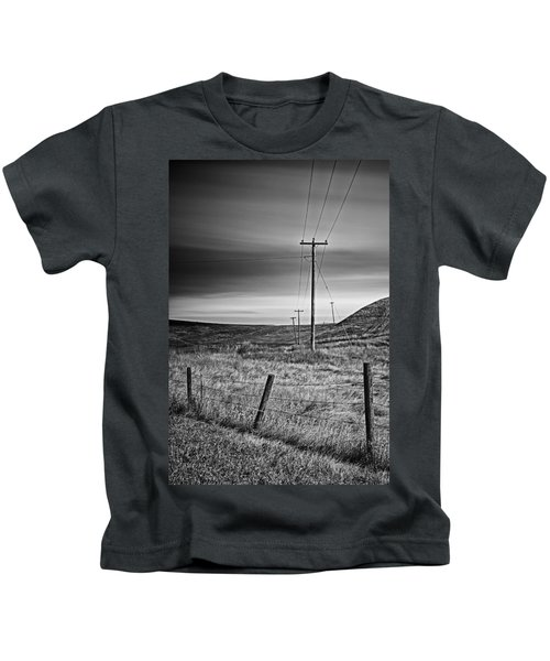 Land Line Kids T-Shirt