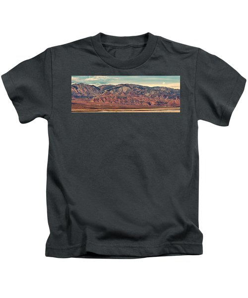 Landscape With Mountain Range Kids T-Shirt by Panoramic Images