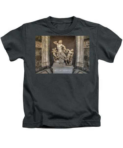 Laocoon And His Sons Kids T-Shirt