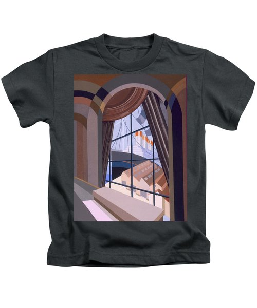 Large Window With A Seat, From Relais Kids T-Shirt