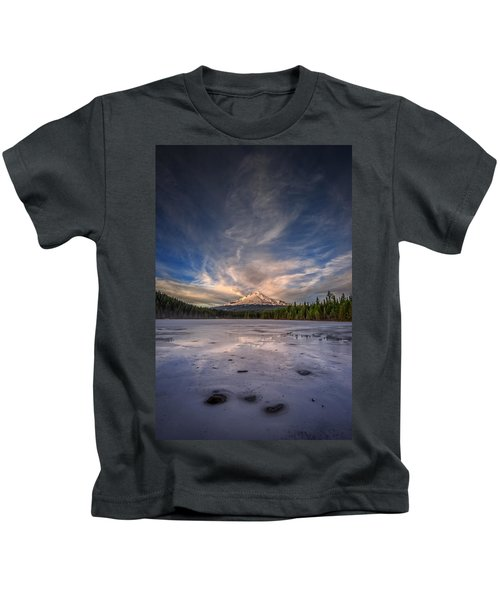 Last Light In The Pacific Northwest Kids T-Shirt
