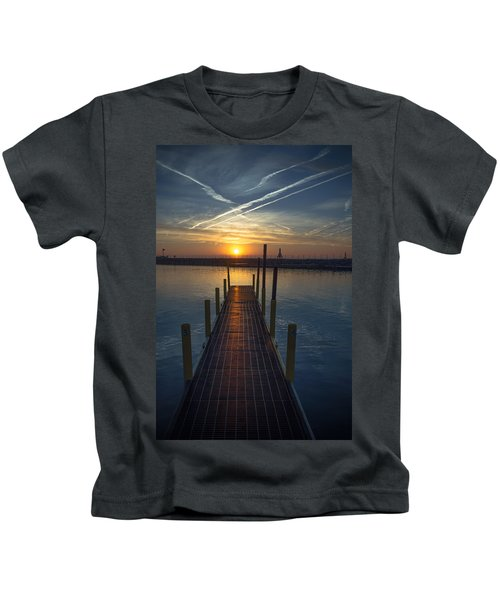 Launch A New Day Kids T-Shirt