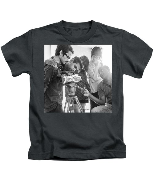 Learning Video Production In India On Kids T-Shirt
