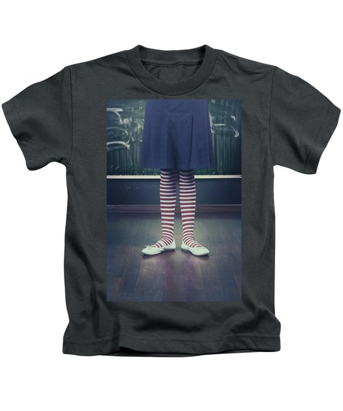 Legs Of A Schoolgirl Kids T-Shirt