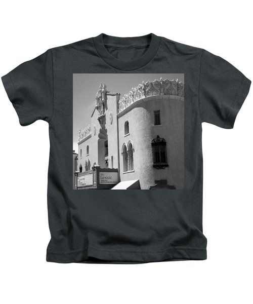 Lensic Bw Kids T-Shirt