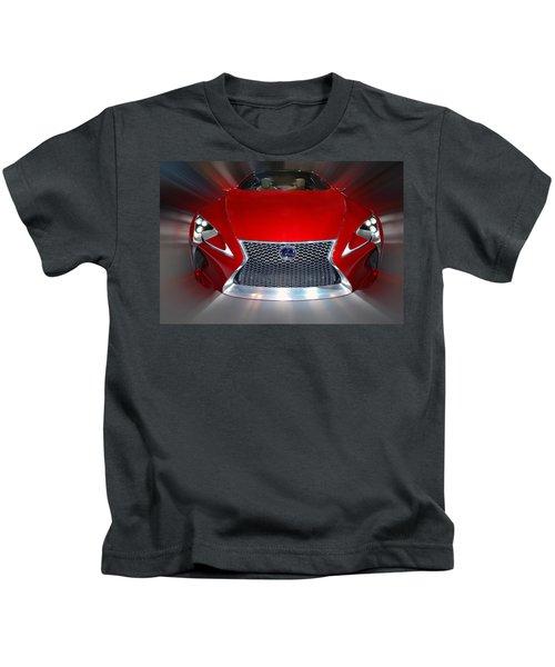 Lexus L F - L C Hybrid 2013 Kids T-Shirt