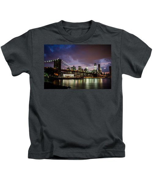 Light Up The Night Kids T-Shirt