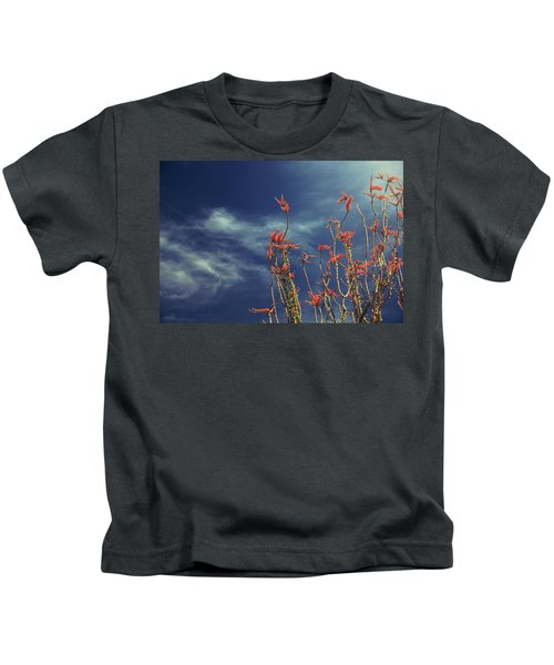 Like Flying Amongst The Clouds Kids T-Shirt
