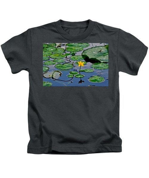 Lilly Pad Pond Kids T-Shirt