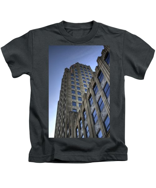Lincoln Building Kids T-Shirt