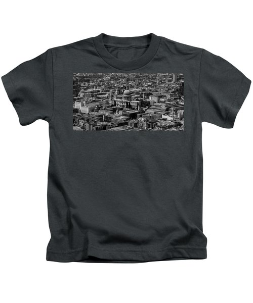 London Skyline Kids T-Shirt by Martin Newman