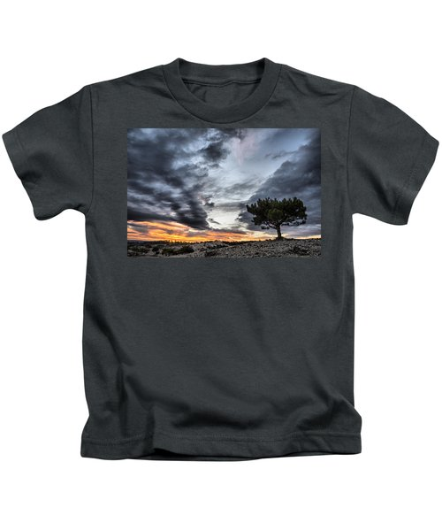 Lonely Tree Kids T-Shirt