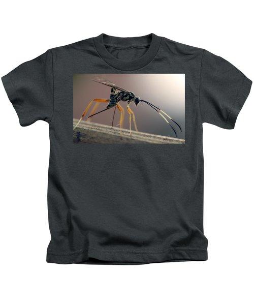 Long Legged Alien Kids T-Shirt