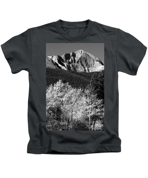 Longs Peak 14256 Ft Kids T-Shirt