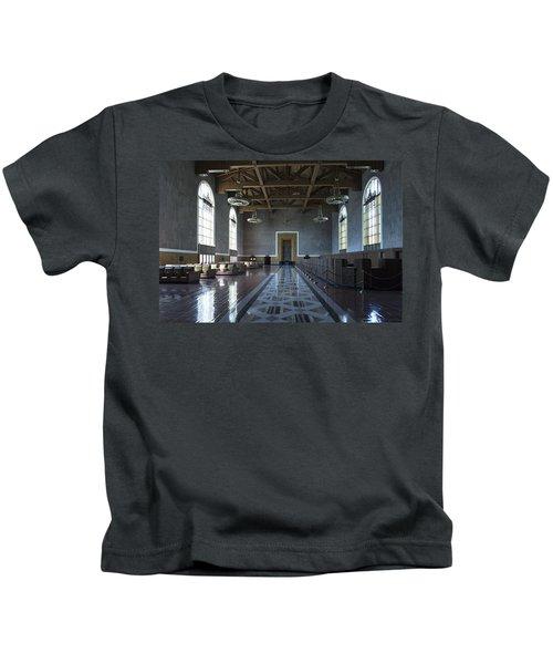 Los Angeles Union Station - Custom Kids T-Shirt