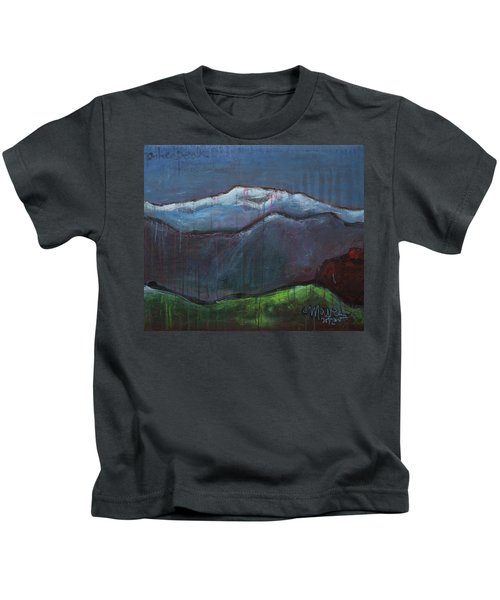 Love For Pikes Peak Kids T-Shirt